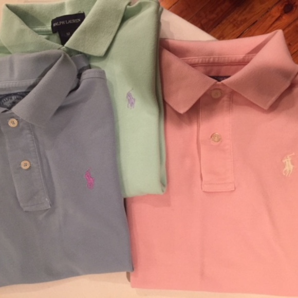 1906a0d4a Ralph Lauren Shirts & Tops | Polo Shirts Bundle Of 3 Size 810m ...